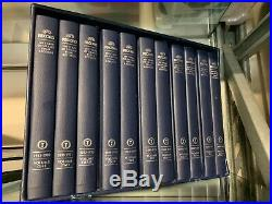 100 Years of AFL Grand Final Records 11 x Hardcover Books in 1 x Boxed Set