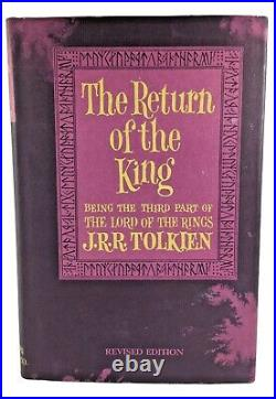 1965 Lord Of The Rings Trilogy Hardback Box Set J. R. R. Tolkien 2nd Edition