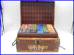 7 Harry Potter HARDCOVER Books Complete Series Collection Box Set