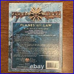 AD&D Planescape Planes of Law. 1995 Box Set TSR #2607 (Not complete)