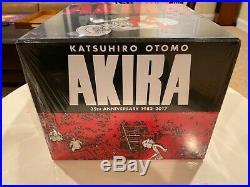 AKIRA 35th ANNIVERSARY BOX SET HC NEW SEALED OOP RARE FREE SHIPPING KODANSHA