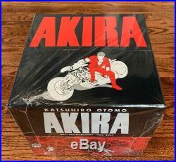 AKIRA 35th ANNIVERSARY BOX SET (Katsuhiro Otomo) Factory Sealed