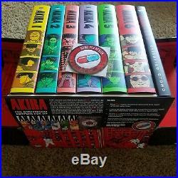 AKIRA 35th Anniversary Hardcover Box Set