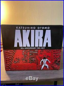 AKIRA 35th Anniversary Hardcover Box Set VIZ Anime manga fantagraphics otomo