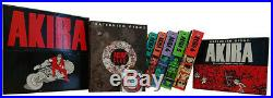 AKIRA 35th Anniversary Limited Edition Box Set Deluxe Hardcover OOP Manga