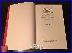 ARCHAIC ROMAN RELIGION Georges Dumezil 1st/1st 2 Vol. Box Set 1970 REVIEW COPY
