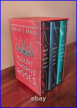 A Court of Thorns and Roses Hardcover Box Set by Sarah J Maas (2017)