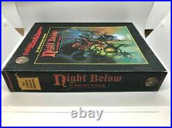 Advanced Dungeons and Dragons Night Below box set by Carl Sargent excellent cond
