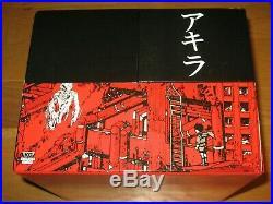 Akira 35th Anniversary Box Set Manga Katsuhiro Otomo 9781632364616