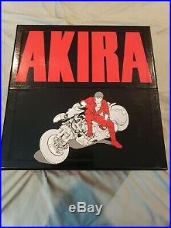 Akira 35th Anniversary Box Set October 31 2017 Ed. Hardcover Excellent Condition