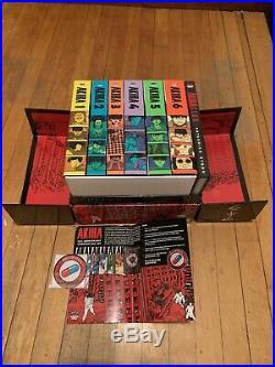 Akira 35th Anniversary Box Set Out Of Print Hardcover Manga Katsuhiro Otomo Hardback Box Set