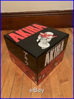 Akira 35th Anniversary Box Set Out Of Print Hardcover Manga Katsuhiro Otomo