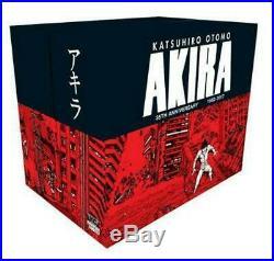 Akira 35th Anniversary Box Set by Katsuhiro Otomo Hardcover Book Free Shipping