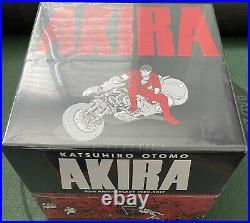 Akira 35th Anniversary Complete Box Set Katsuhiro Otomo Hardcover Manga English