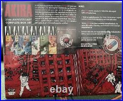 Akira 35th Anniversary Complete Box Set Manga Katsuhiro Otomo Hardcover English