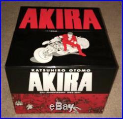 Akira 35th Anniversary Hardcover English Manga Box Set Katsuhiro Otomo