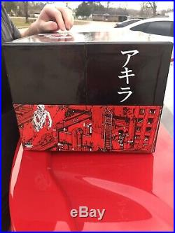 Akira 35th Anniversary Limited Edition Hardcover Manga Box Set OUT OF PRINT RARE