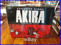 Akira 35th Anniversary boxed set COMPLETE and MINT! Katsuhiro Otomo