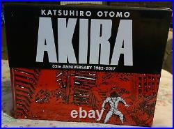 Akira Ser. Akira 35th Anniversary Box Set by Katsuhiro Otomo (2017, Hardcover)