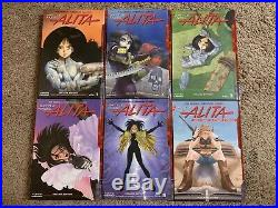 Alita Battle Angel Deluxe Edition 1-5+ Complete Box Set 6 Hardcover GN Manga