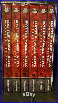 Battle Angel Alita Deluxe Complete Series Box Set NEW