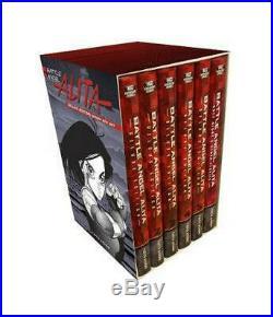 Battle Angel Alita Deluxe Complete Series Box Set by Yukito Kishiro Hardcover Bo