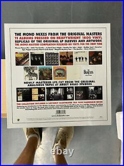 Beatles Mono 14 LP Box Set + 108 Page Hardcover Book Mint