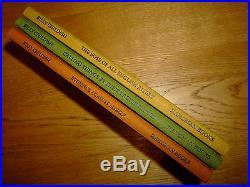 Billy Childish-3 Book Box Set-original Signed Art-hb-2003-f-hangman-mega Rare