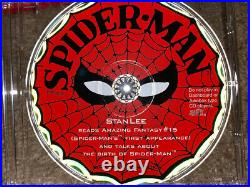 Birth of Spider-man HC Box Set signed by Stan Lee AUTHENTIC Amazing Fantasy #15