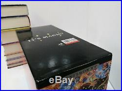 Bloomsbury HARRY POTTER 1-7 HARDBACK Book Box Set Collection NEVER READ