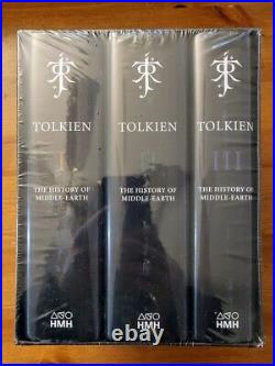 Brand NEW! The History of Middle-earth Boxed Set Hardcover