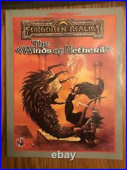 COMPLETE & EXC! Netheril Empire Of Magic Boxed Set 1147 Forgotten Realms D&D