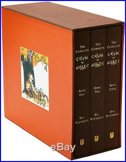 Calvin & Hobbes Complete Box Set Hardcover Bill Walterson Brand New Sealed