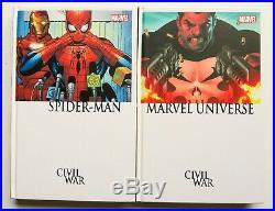 Civil War Set No Box Hardcover Marvel Graphic Novel Comic Book Lot of 10