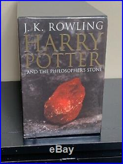 Complete Harry Potter UK Adult Edition Box Set 1-7 Collectible