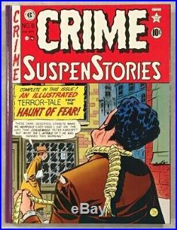 Crime SuspenStories Complete EC Library Box Set withSlipcase Russ Cochran'83