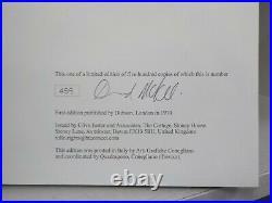 David McKee 4 SIGNED & NUMBERED BOOKS Mr Benn Limited Edition Box Set ID879