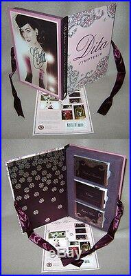 Dita Von Teese SIGNED AUTOGRAPHED Stripteese Flip Book Box Set 1st Ed/1st Print