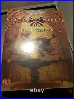 Dungeons & Dragons Planescape Planes Of Law Box Set SEALED UNOPENED