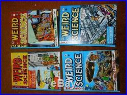 EC Comics Weird Science Russ Cochran box set, vol. 1-4, black and white