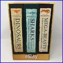 Encyclopedia Prehistorica Complete Collection Pop Up Book Box Set RARE Sabuda