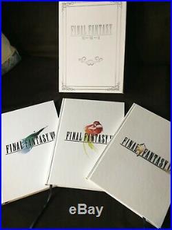 FINAL FANTASY VII VIII IX Strategy Guide Box Set HARDCOVER