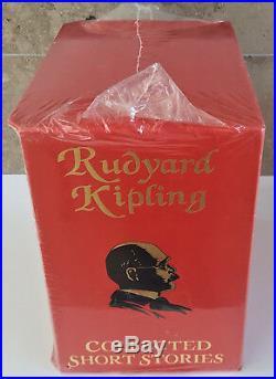FOLIO SOCIETY RUDYARD KIPLING COLLECTED SHORT STORIES 5 Vol Box Set NEW SEALED