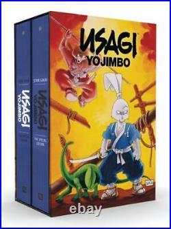 Fantagraph Fantasy Graphic Usagi Yojimbo The Special Ed Hardcover Box Set VG+