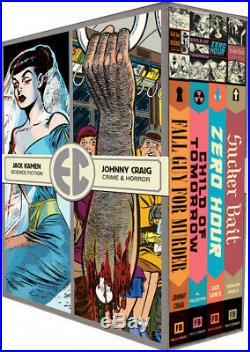 Fantagraphics Ec Artists Library Slipcase Vol 2 Box Set Hc Sealed & Oop Rare