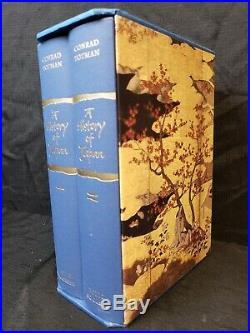 Folio Society A HISTORY OF JAPAN Conrad Totman 2 Volume Boxed Set Slipcase