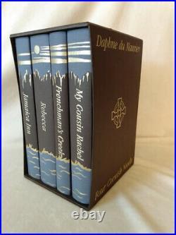 Four Cornish Novels by Daphne du Maurier Folio Society Box Set 4 Novels Like New