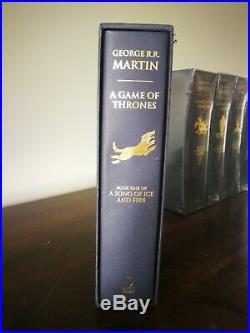 Game of Thrones Slipcase Edition First Print George RR Martin Box Set Slip Case