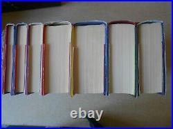 HARRY POTTER Complete Boxed Set 7 Books All Hardbacks w. DJs Bloomsbury