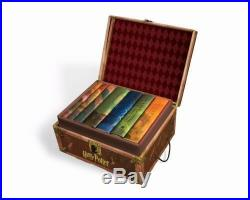 HARRY POTTER HARDCOVER BOXED SET OF BOOKS # 1 7 Complete NEW JK Rowling GIFT
